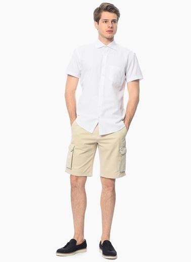 George Hogg Kısa Kollu Gömlek Beyaz